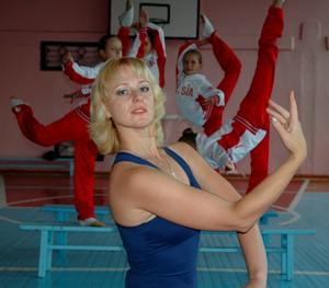С.Н. Ганькина с воспитанницами