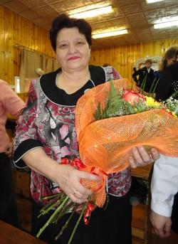 Валентина Матвеевна принимает поздравления