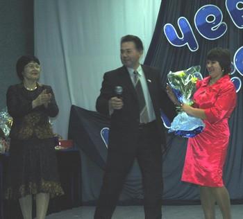 Поздравление председателя Думы УКМО организаторам третьего Межрегионального фестиваля